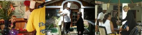 cooking shows and restaurants in belize
